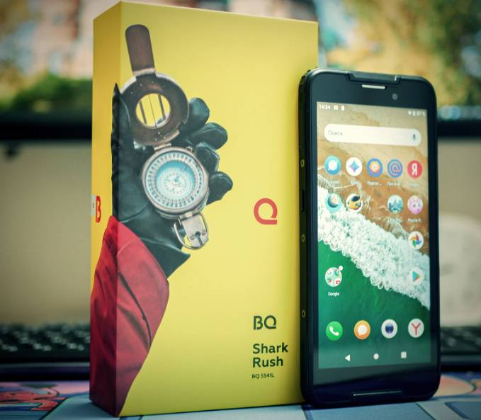 BQ Shark Rush Review - Dust & Waterproof smartphone