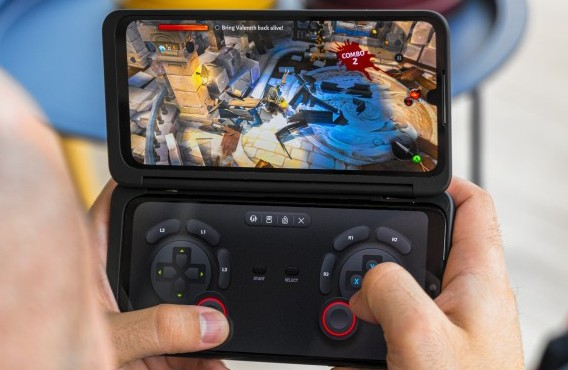 LG has developed its own game controller