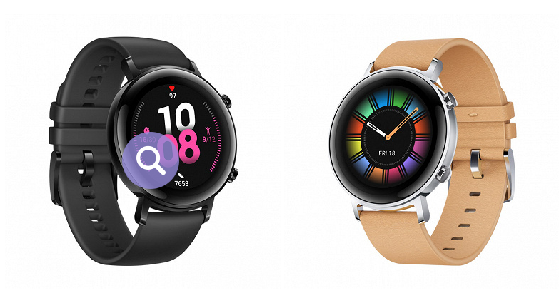 Smart watch Huawei Watch GT 2 with a new design