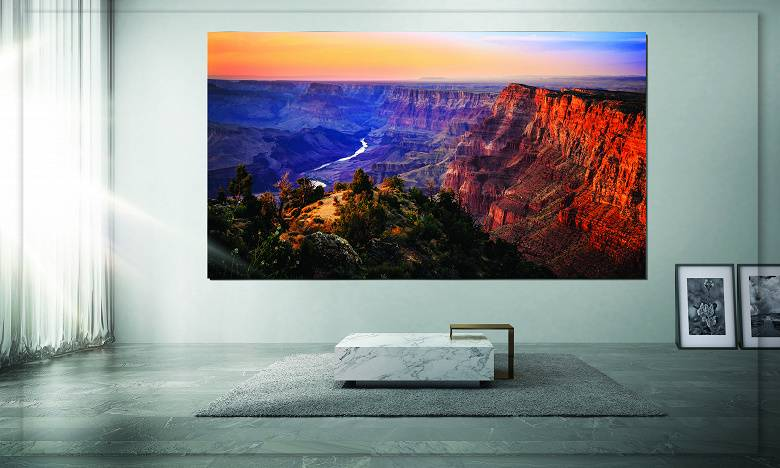 $ 1.7 million for a Samsung TV. The Wall models go on sale