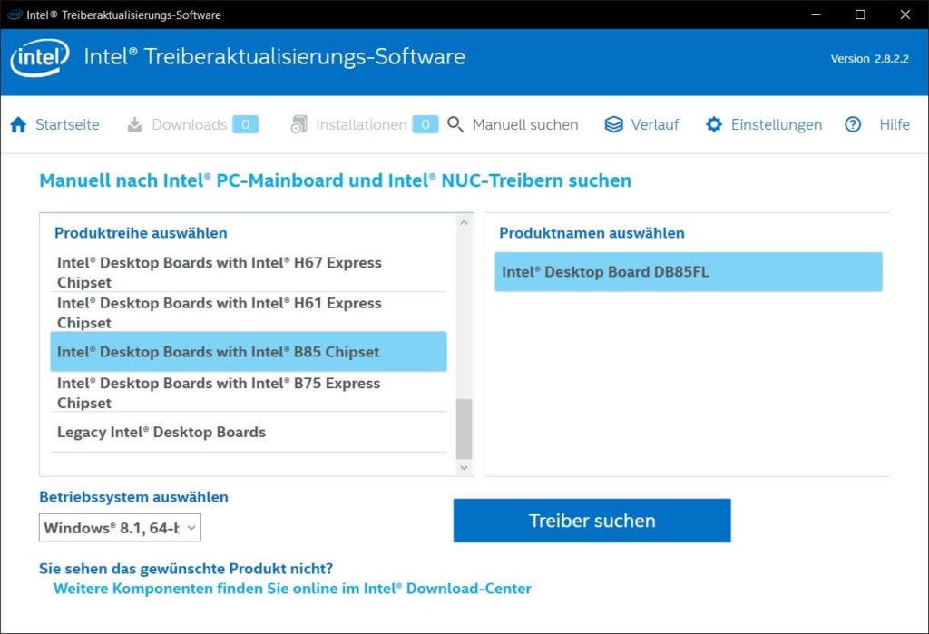 Intel Driver Update
