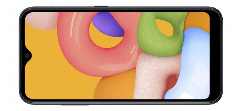 Samsung Introduced low-cost smartphone Samsung Galaxy A01