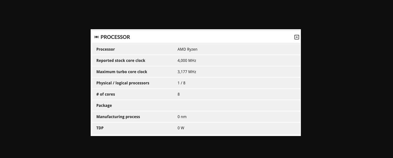 New AMD APU
