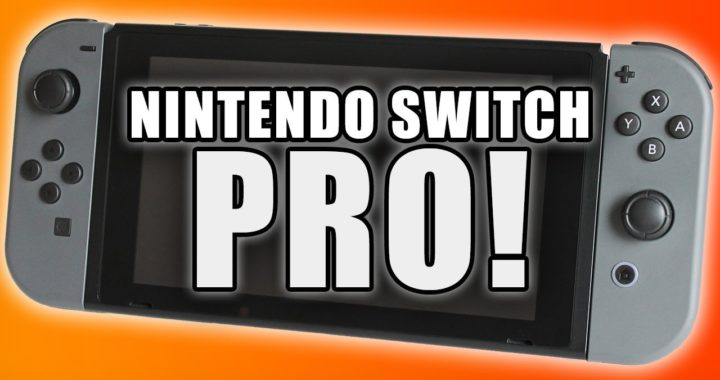 New Nintendo Switch Pro launch in 2020 that supports 4K resolution