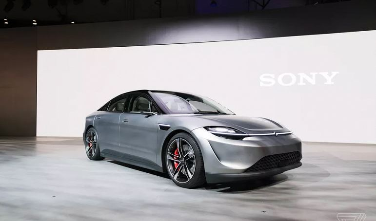 Sony surprised by the announcement of the first electric car Vision-S