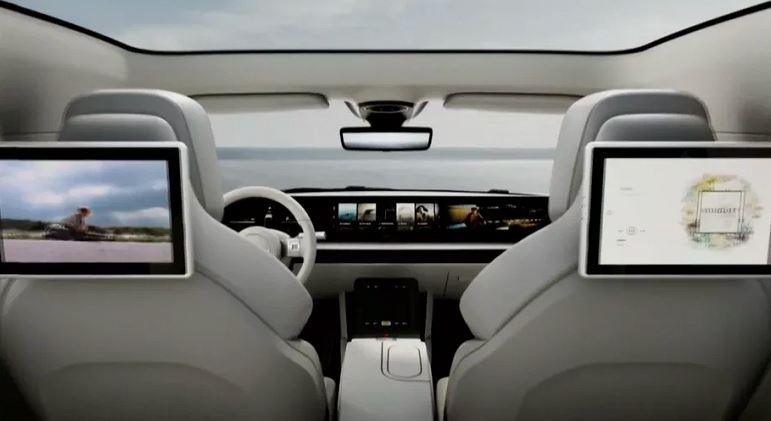 Sony electric car