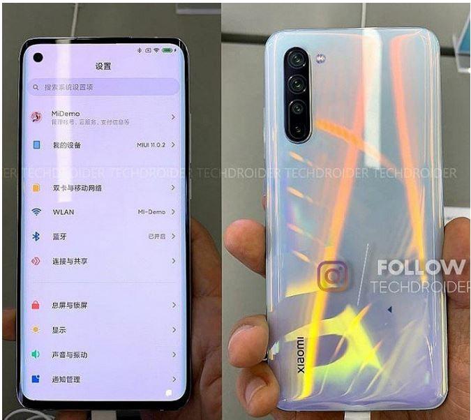 Xiaomi MI 10 live photo