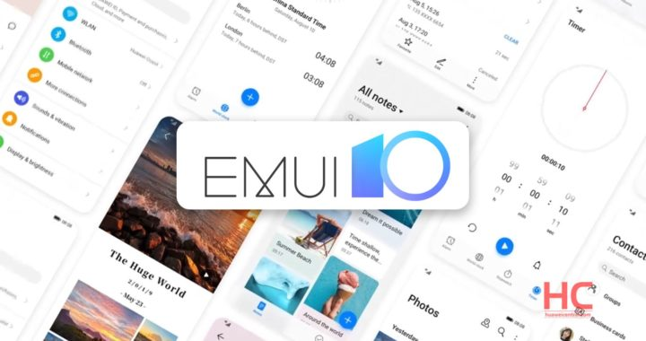 HUAWEI EMUI 10 system upgrade users broke 100 million Android 10+