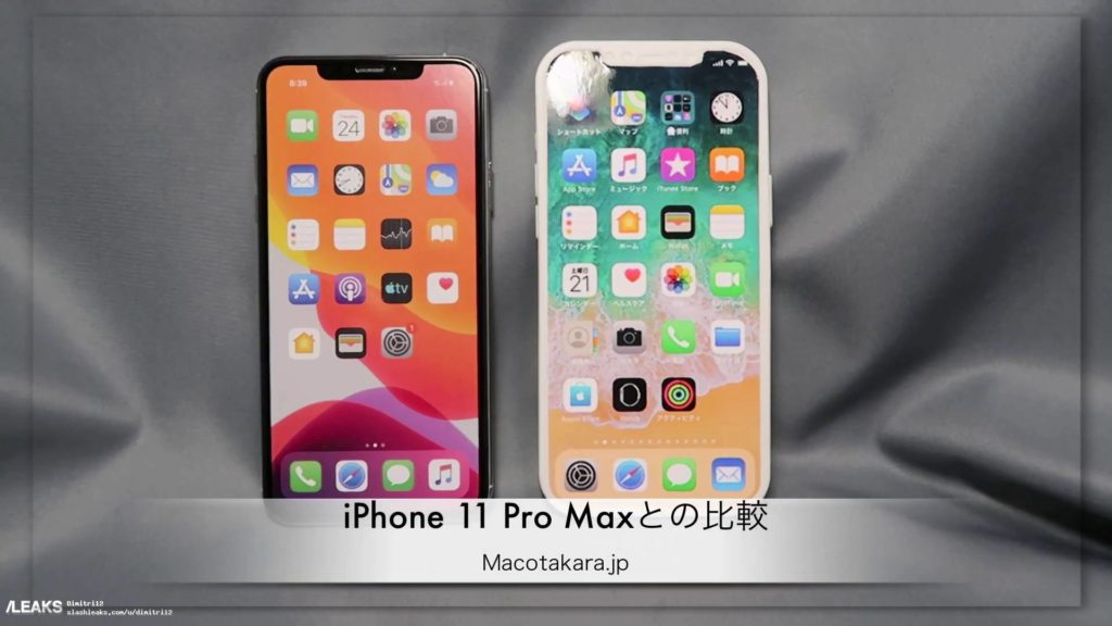 Showing AppleI phone 12 pro max model look
