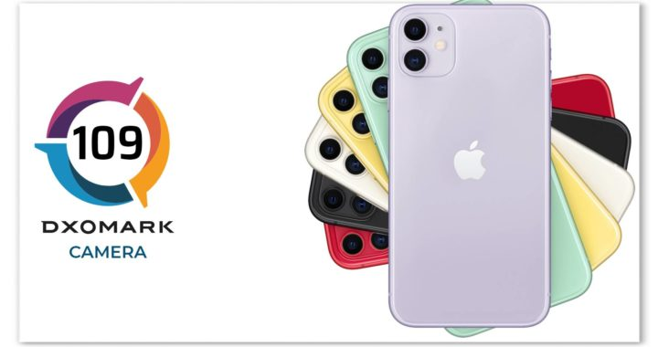 109 points DxOMark announced the iPhone 11 Pro Max front camera scoreannounces iPhone 11 results