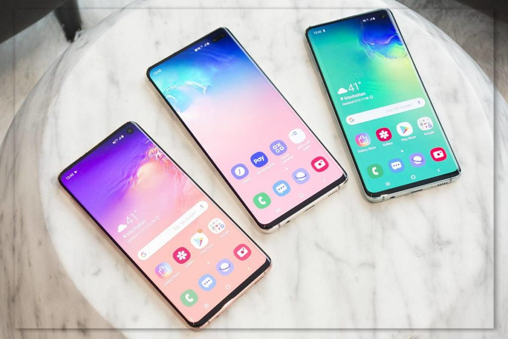 Samsung brought down prices for the Galaxy S10 line