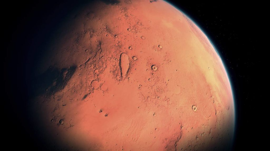 NASA experts unveil life on Mars: live in ancient underground caves