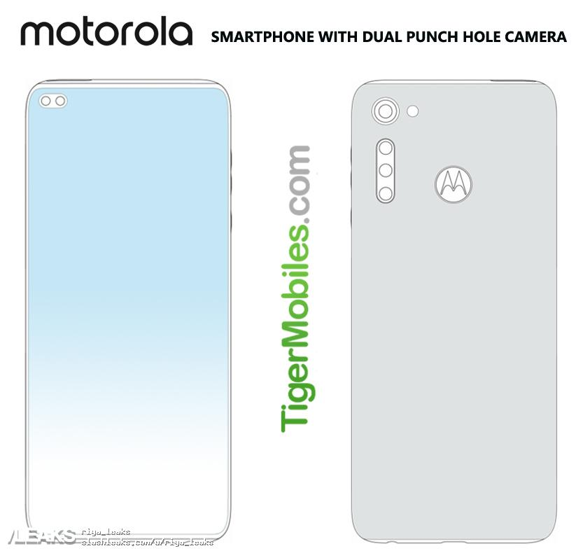 The new Motorola looks like this: Called Moto G9