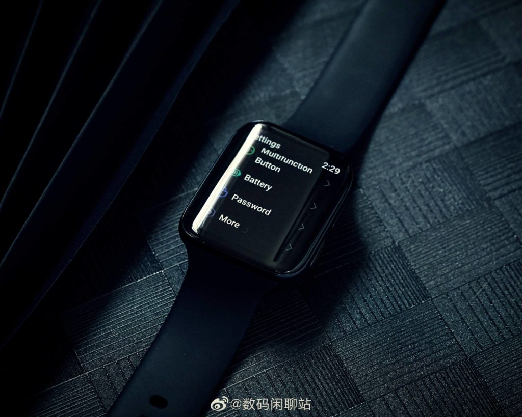 OPPO SmartWatch looks better on render with ECG sensor and direct call function