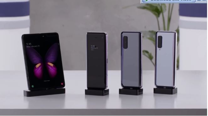 Galaxy Fold 2: ew folding smartphone with camera under the display