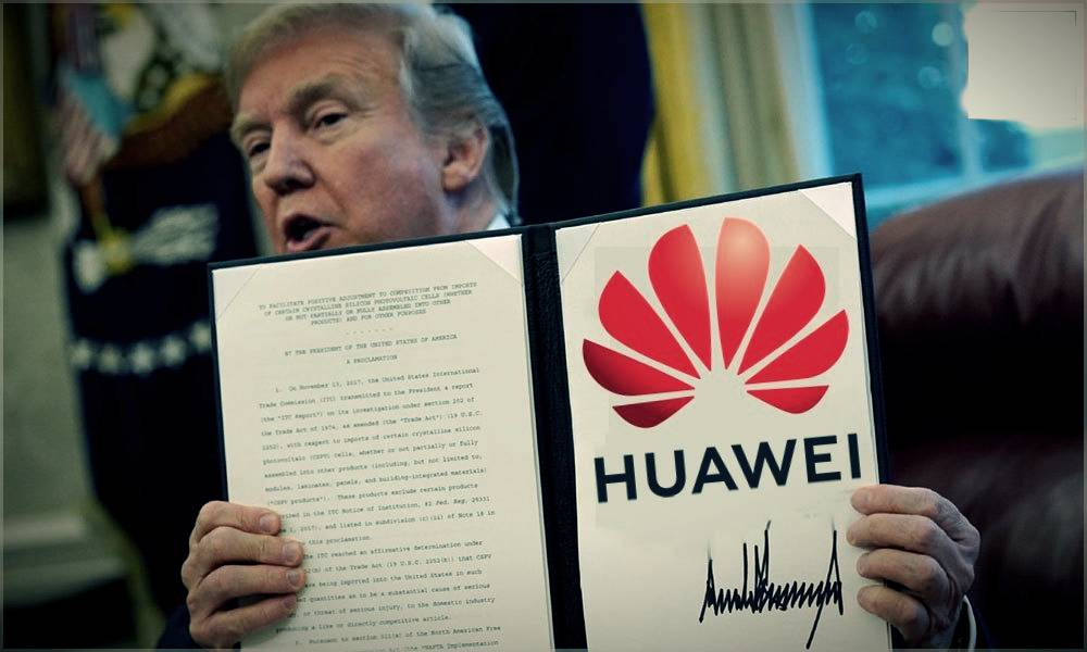 Huawei sanctions: Trump Play a double game