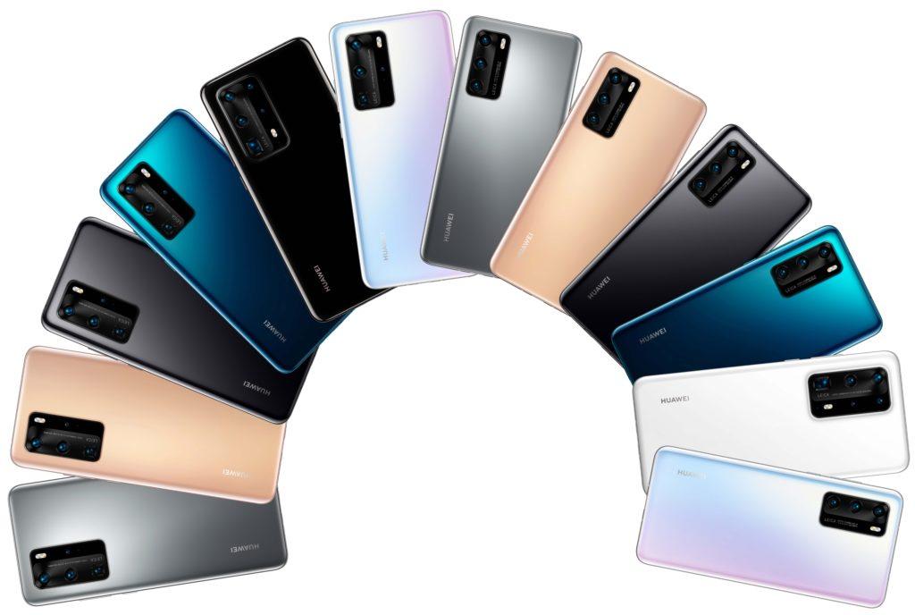 Huawei P40 Pro screen supplier exposure