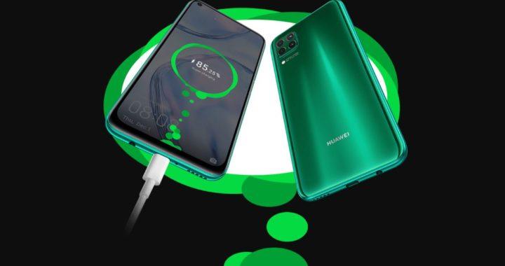 Huawei P40 Pro + 40W wireless fast charging animation