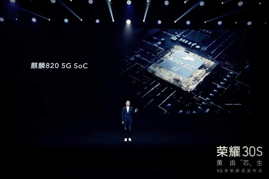 Kirin 820 officially released: 7nm process, Kirin 990 5G baseband