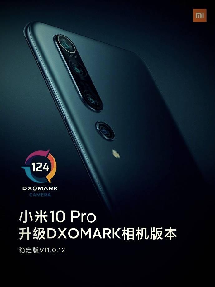 Xiaomi mi 10 pro dxomark rating