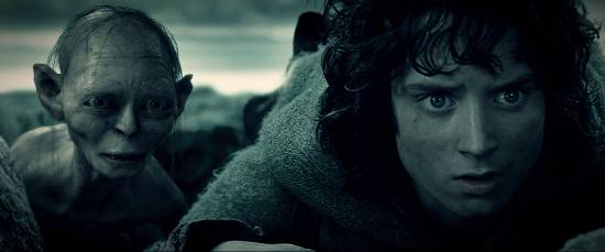 The Lord of the Rings movie had a more brutal ending: Frodo killed Guru