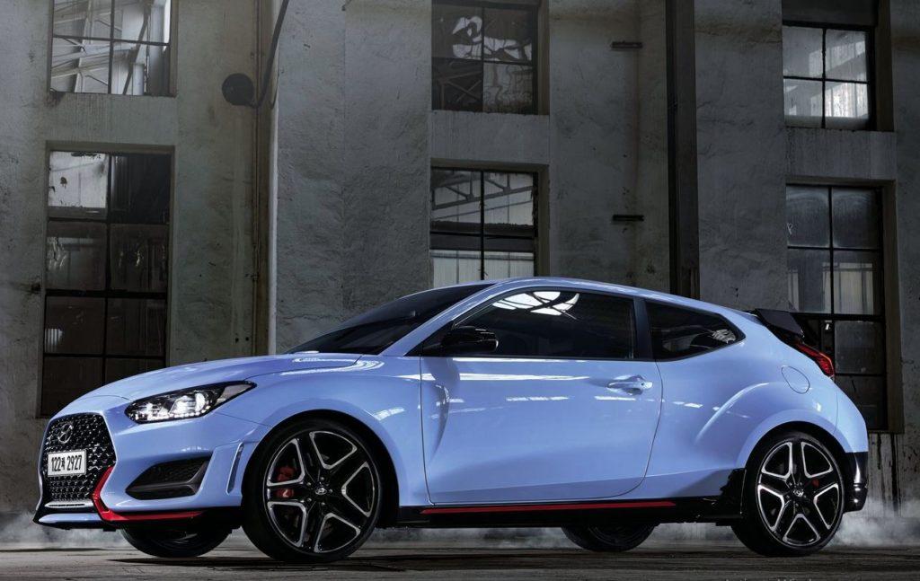 Hyundai Motor presents an updated car Veloster N