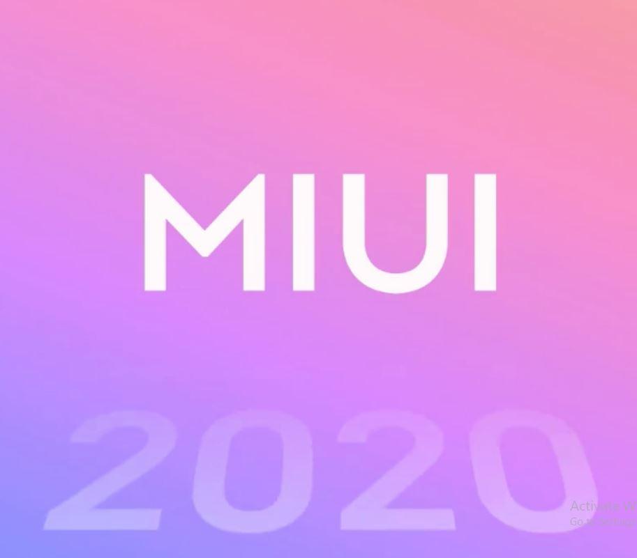 MIUI 2020 update