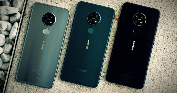 Nokia 7.2 received Android 10