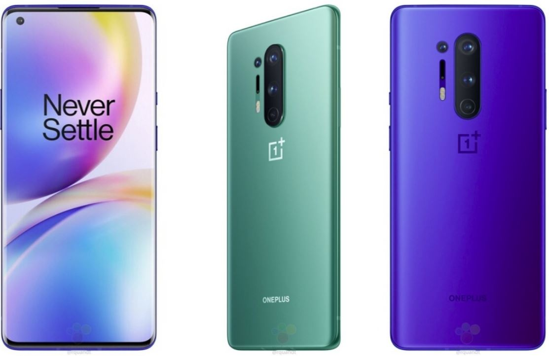 OnePlus 8, OnePlus 8 Pro appearance and configuration detailed exposure