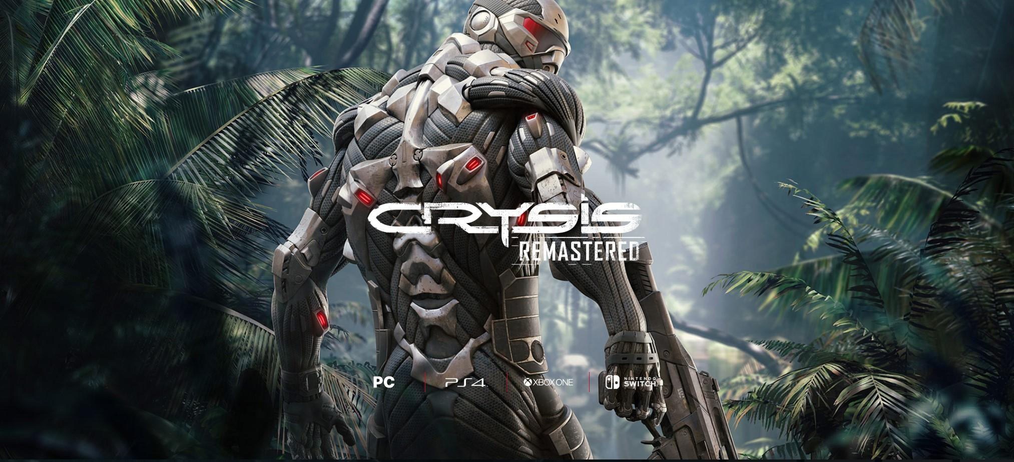 Crytek is working on Crysis Remastered