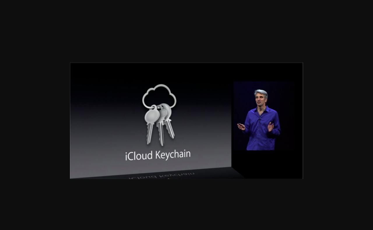 icloud key chain