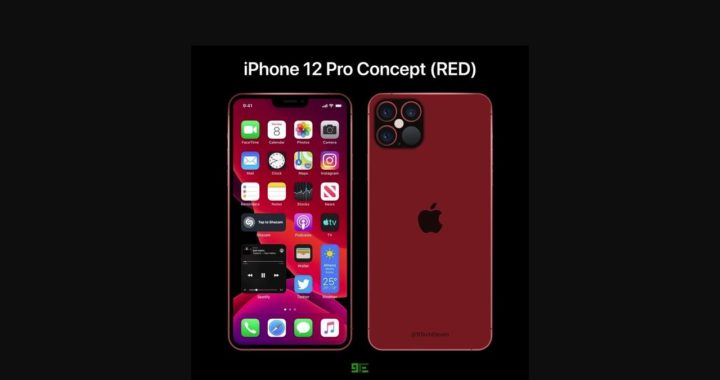 IPhone 12 Pro concept debut in red version:
