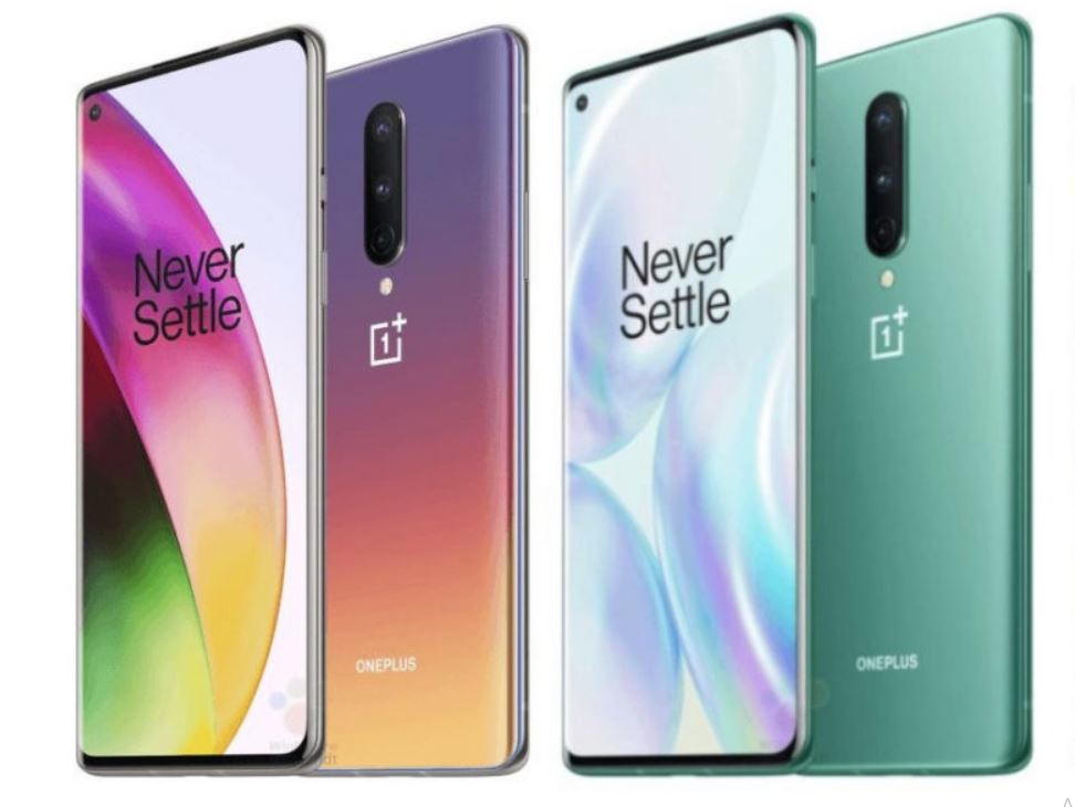OnePlus 8, OnePlus 8 Pro appearance