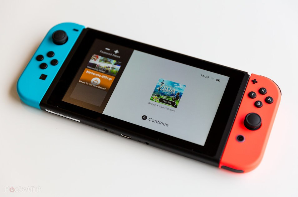 Nintendo Switch: Planned to upgrade next-gen console