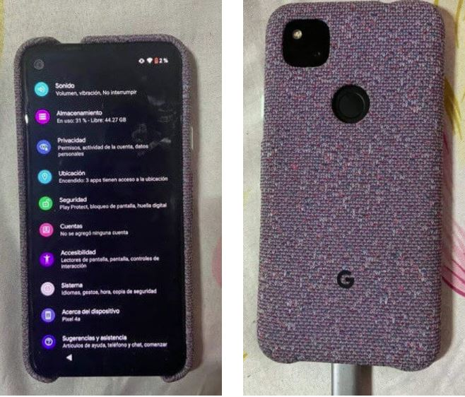 Google Pixel 4a, a first detailed camera test Leak