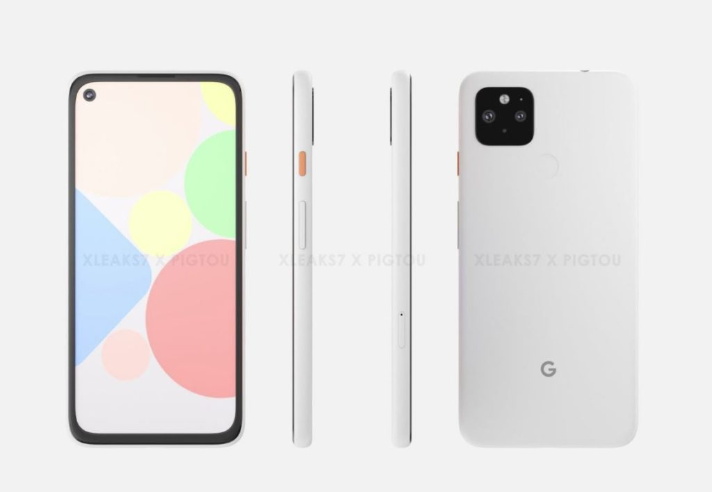 Google Pixel 4 A And 5
