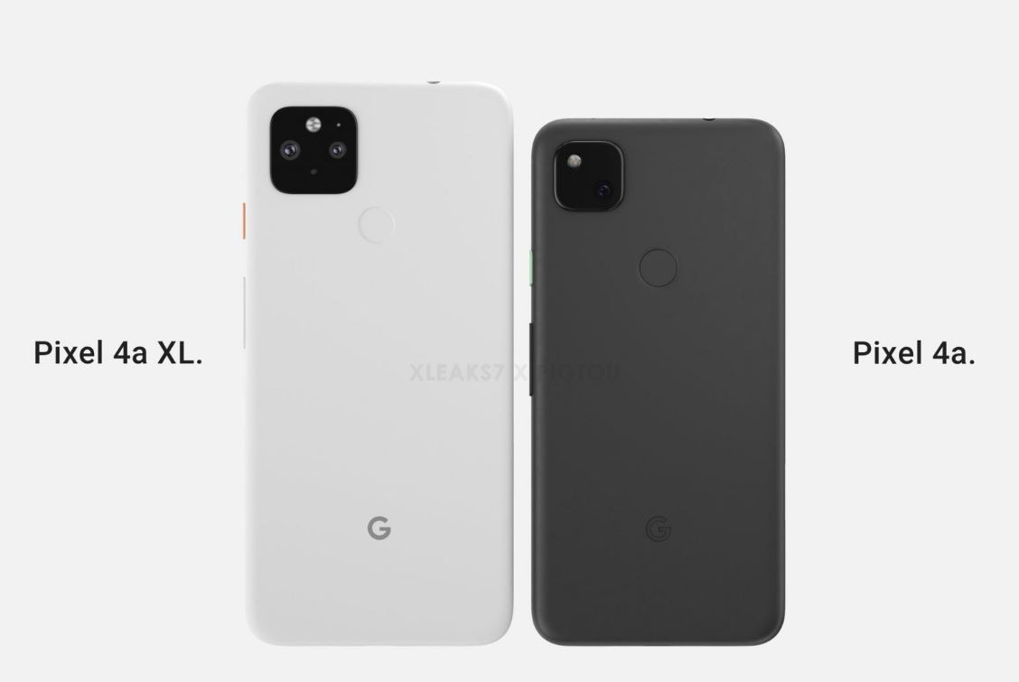 Google Pixel 4a XL selected image appeared