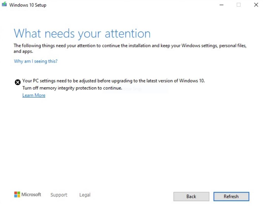 Windows 10 May update cause security issues