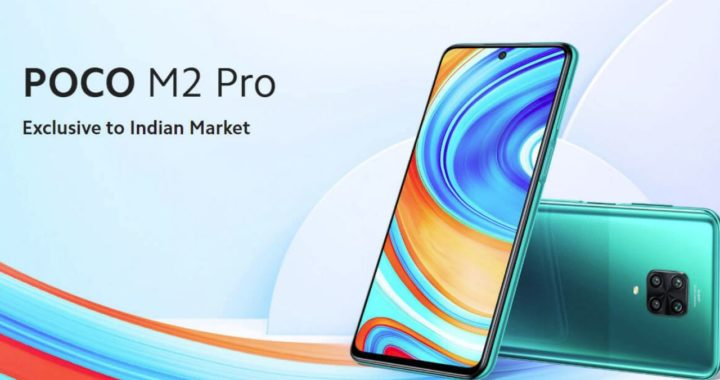 POCO M2 Pro rolling out in India