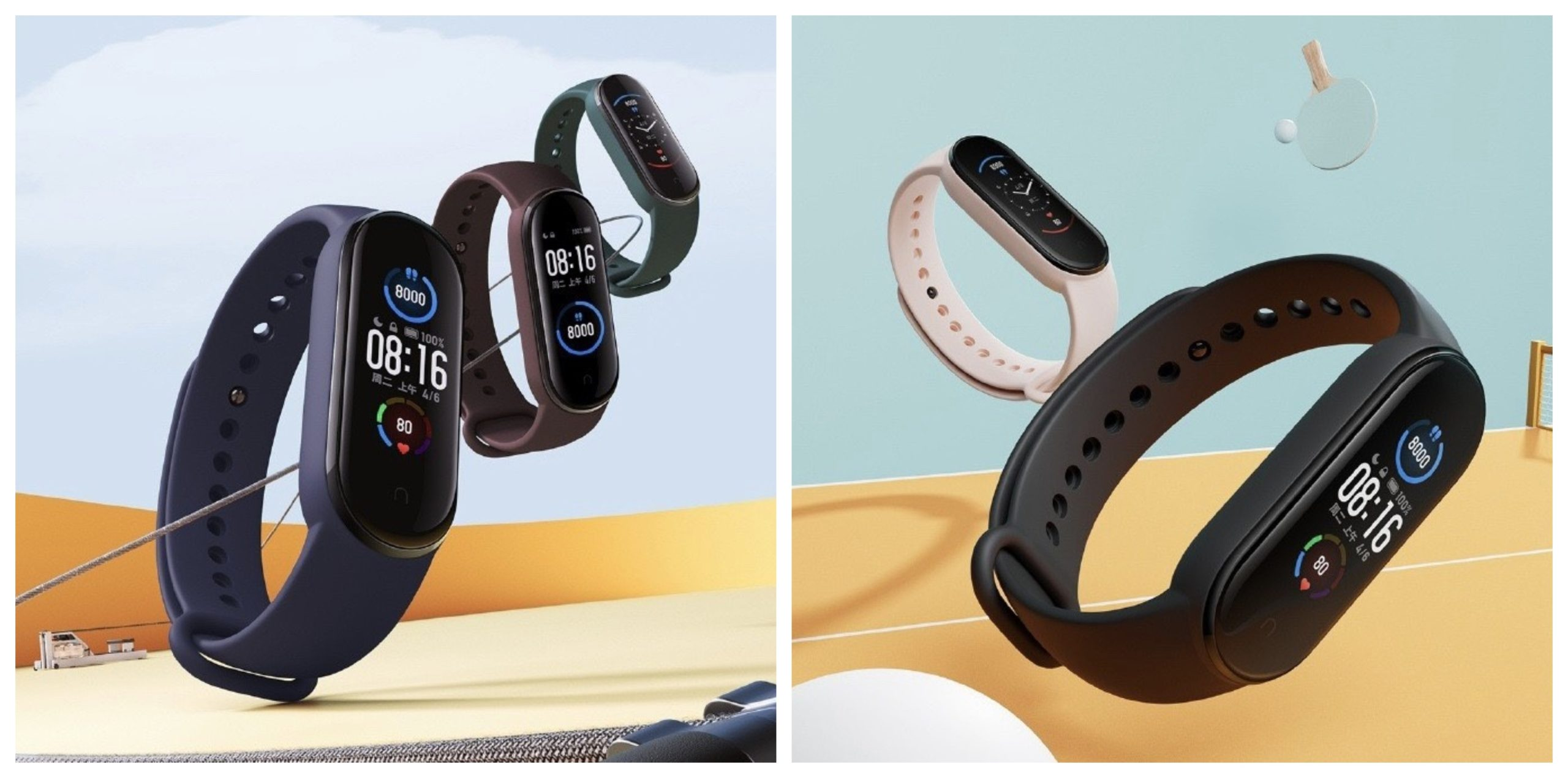 Xiaomi mi band 5 official released