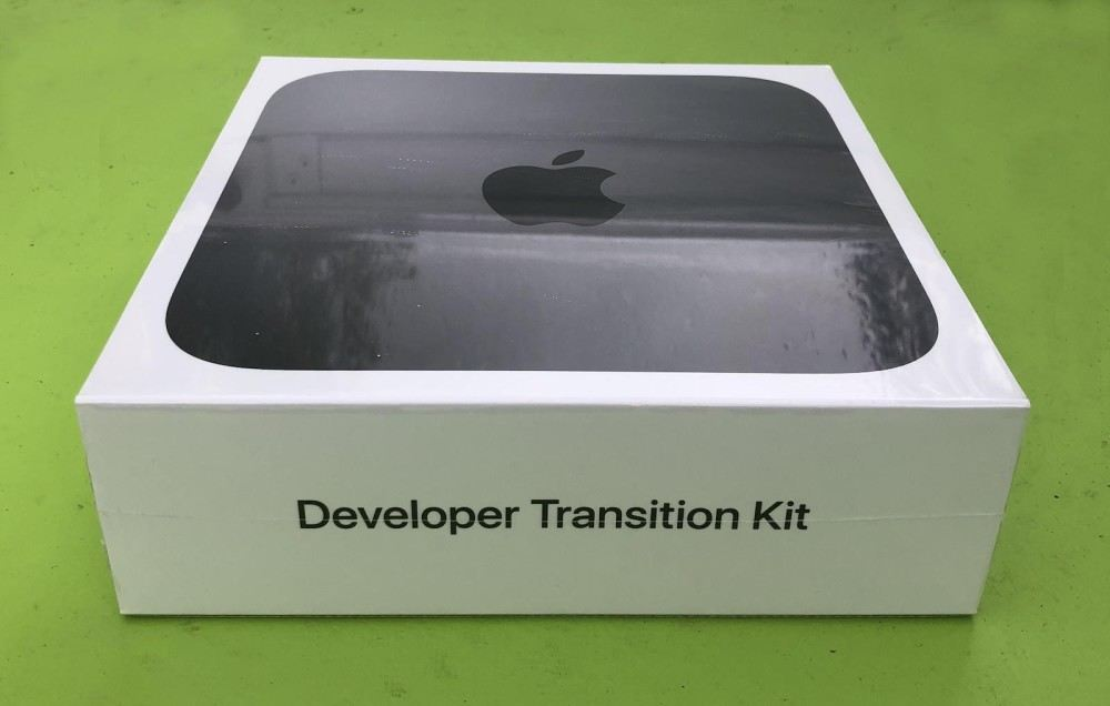 Some developers have received a custom Mac mini equipped with an A12Z chip