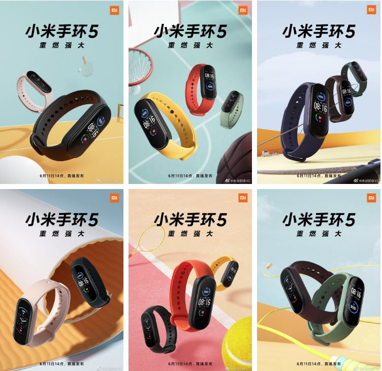 mi band posters