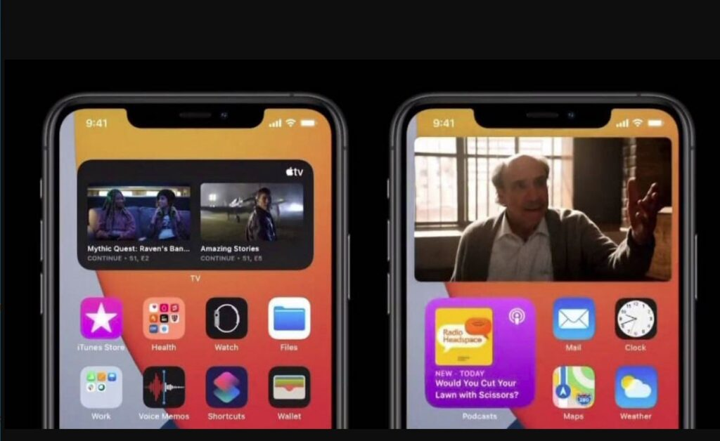 How to enable the picture-in-picture function for Apple iOS 14?
