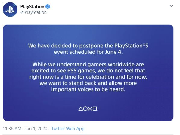 PlayStation and Android Presentations Canceled