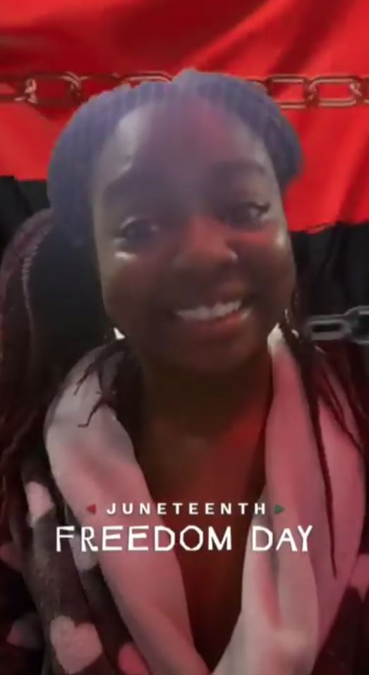 Snapchat apologizes for racist Juneteenth filter