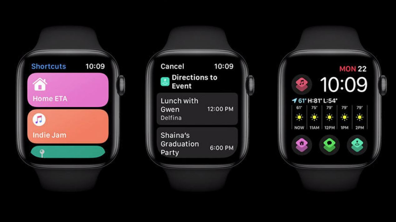 watchOS 7 supports Apple Watch to run shortcut commands locally