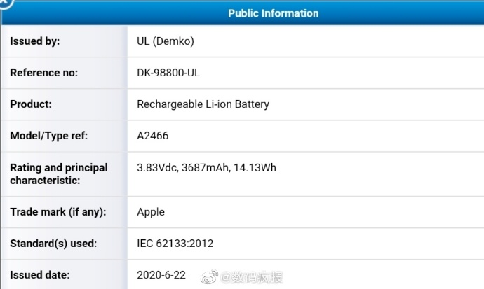 Iphone 12 battery information img