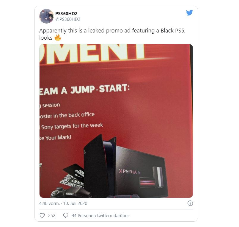 Apparently this is a leaked promo ad featuring a Black PS5, looks 🔥