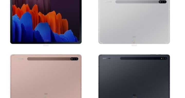 Mega leak to Samsung Galaxy Tab S7 and Tab S7 + provides further unexpected differences