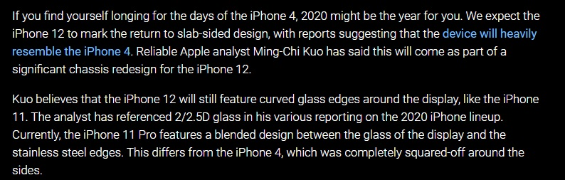 iphone 12 new news coming